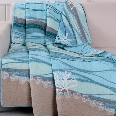 Cosmo Quilted Embroidery Throw