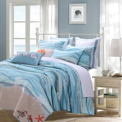 Cosmo Reversible Quilt Set Size: Twin