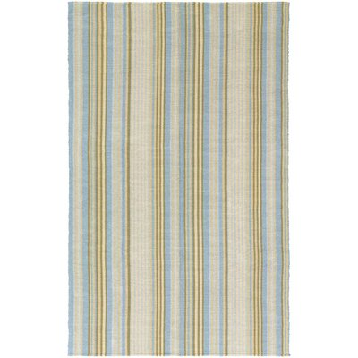 Greater Carrollwood Hand-Woven Blue/Yellow Area Rug Rug Size: Runner 23 x 8
