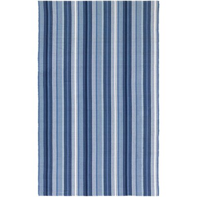 Artique Hand-Woven Blue Area Rug Rug Size: Rectangle 8 x 10