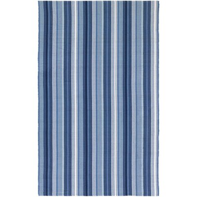 Artique Hand-Woven Blue Area Rug Rug Size: 3 x 5