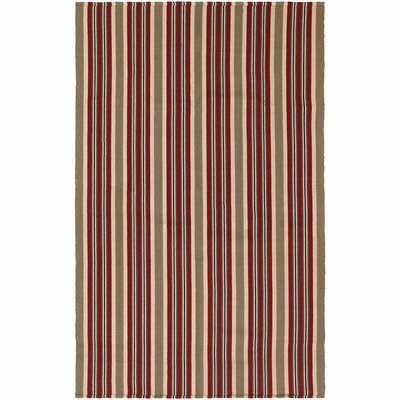 Artique Hand-Woven Green/Red Area Rug Rug Size: Runner 23 x 8