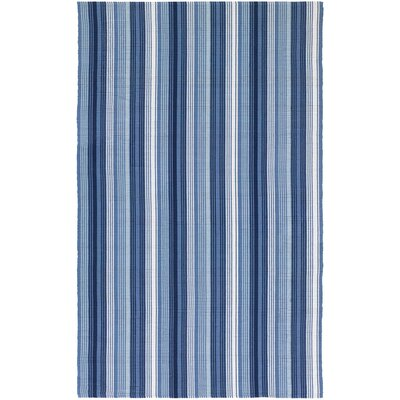 Artique Hand-Woven Blue Area Rug Rug Size: 5 x 8