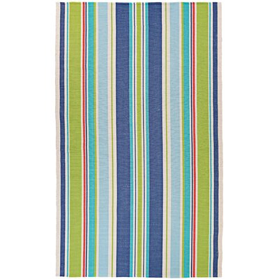 Artique Hand-Woven Green/Blue Area Rug Rug Size: Runner 23 x 8