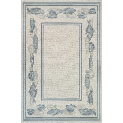Tamecca Ivory Indoor/Outdoor Area Rug Rug Size: Rectangle 4 x 510