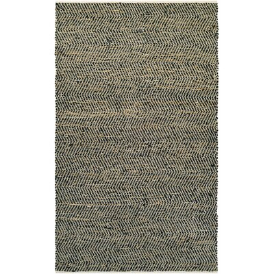 Fairfax Hand-Loomed Gray Area Rug Rug Size: 3 x 5