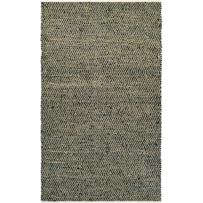 Fairfax Hand-Loomed Gray Area Rug Rug Size: Rectangle 4 x 6