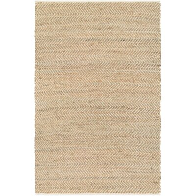 Fairfax Hand Woven Tan Area Rug Rug Size: 3 x 5