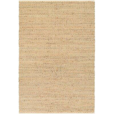 Fairfax Hand-Loomed Beige Area Rug Rug Size: 710 x 1010