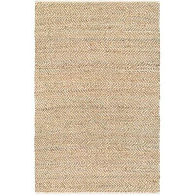 Fairfax Hand Woven Tan Area Rug Rug Size: 6 x 9
