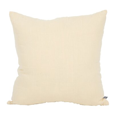 Tangelo Park Linen Throw Pillow Color: Butter