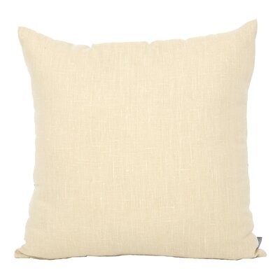 Tangelo Park Linen Throw Pillow Color: Ivy