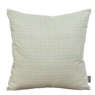 Zac Outdoor Throw Pillow Color: Seamist