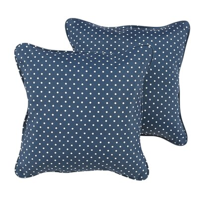 Rundell Mini Dot Indoor/Outdoor Throw Pillow Size: 22 H x 22 W x 6 D