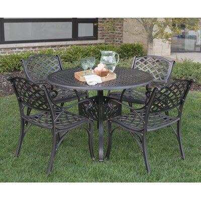 42 Round Cast Aluminum Patio Dining Table