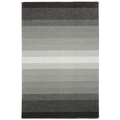 Clowers Ombre Grey Indoor/Outdoor Area Rug Rug Size: 36 x 56