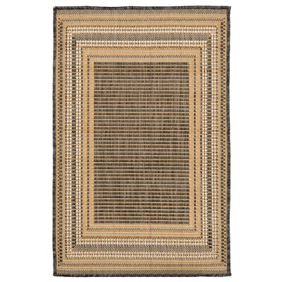 Clatterbuck Etched Gray Indoor/Outdoor Area Rug Rug Size: Rectangle 111 x 211