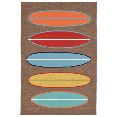 Helen Surfboards Area Rug Rug Size: 76 x 96