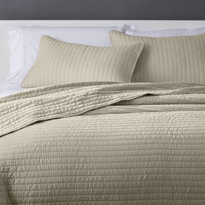 Sterling Heights Orlina Coverlet Set Size: King, Color: Light Khaki