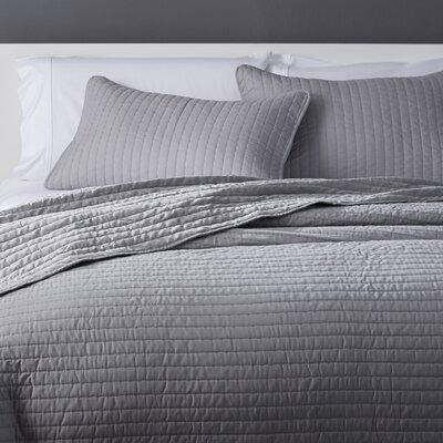 Coverlet Set Size: King, Color: Gray