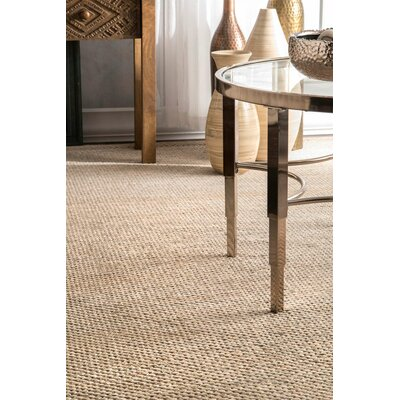 Parnell Hand-Woven Cotton Area Rug Rug Size: Rectangle 5 x 8