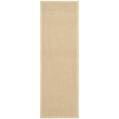 Richmond Maize/Wheat Rug Rug Size: Runner 26 x 16