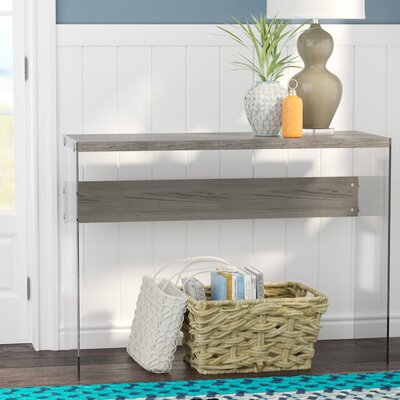 Wiscasset Console Table Finish: Dark Taupe