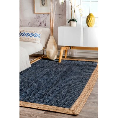 Meister Hand-tufted Graphite Area Rug Rug Size: 6 x 9