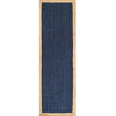 Murphysboro Hand-tufted Graphite Area Rug Rug Size: Runner 26 x 8