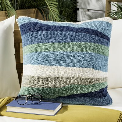 Belfort Ocean Abstract Decorative Indoor/Outdoor Throw Pillow