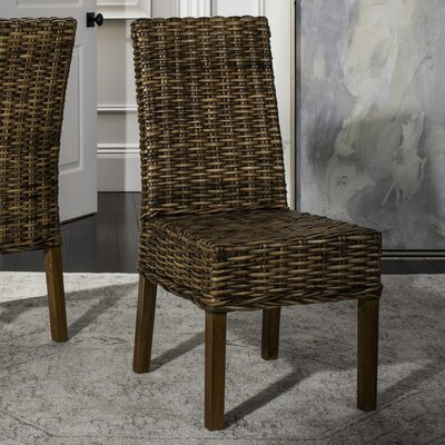 Thomas Solid Wood DIning Chair Finish: Brown