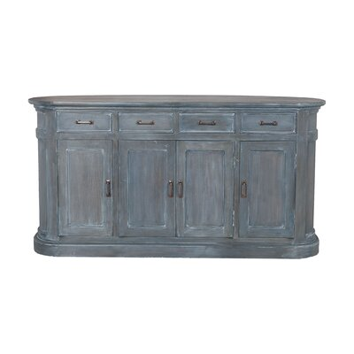 Midvale Wood Hand-Carved Sideboard