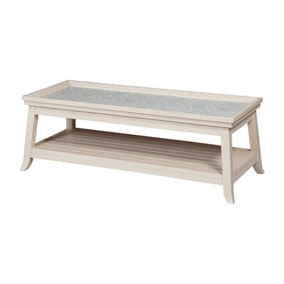 Burbank Interlocking Chain Coffee Table