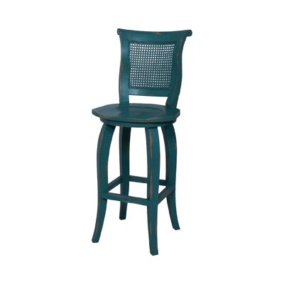 Ernest Hand-Painted Bar Stool
