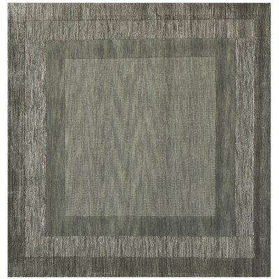 Frederica Dark Gray Area Rug Rug Size: Square 6