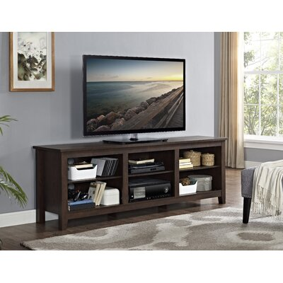 Sunbury TV Stand Finish: Traditional Brown