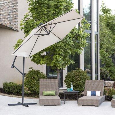 Gia 10 Patio Cantilever Umbrella Fabric: Tan