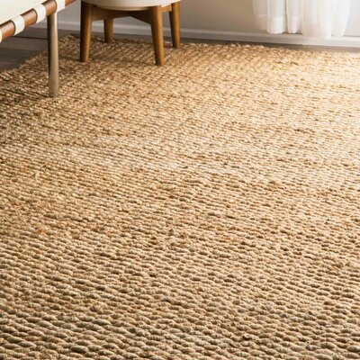 Southold Hand-Woven Brown Area Rug Rug Size: Rectangle 6 x 9
