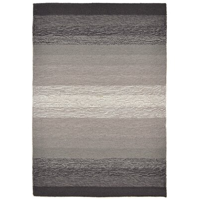 Clowers Ombre Grey Indoor/Outdoor Area Rug Rug Size: 2 x 3