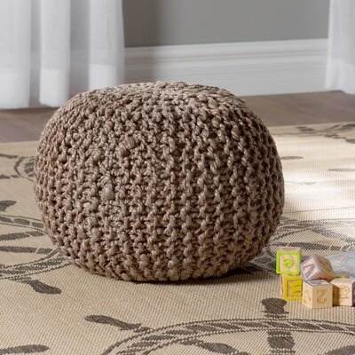 Odin Sphere Pouf Upholstery: Medium Gray