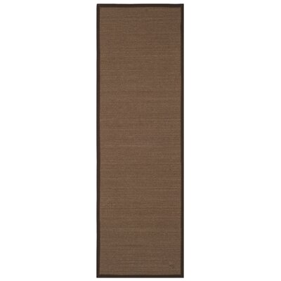 Monastiri Brown Area Rug Rug Size: Runner 26 x 8