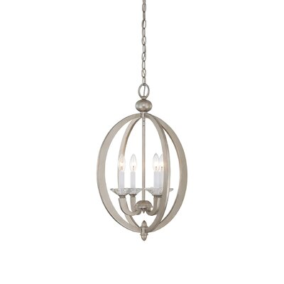 Georgetown 4-Light Foyer Pendant