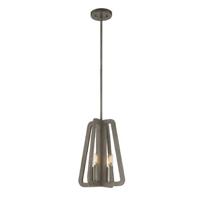 Alden 4-Light Mini Pendant Size: Small