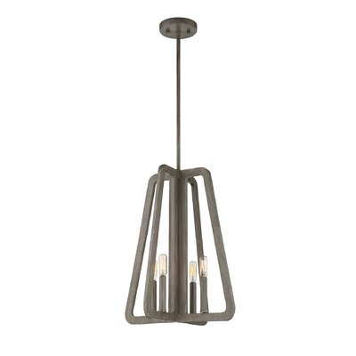 Alden 4-Light Mini Pendant Size: Large
