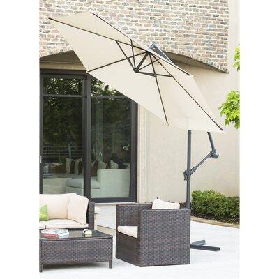 Attleboro 10 Patio Cantilever Umbrella Fabric: Tan