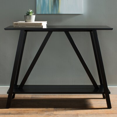 Flanders Console Table Finish: Black