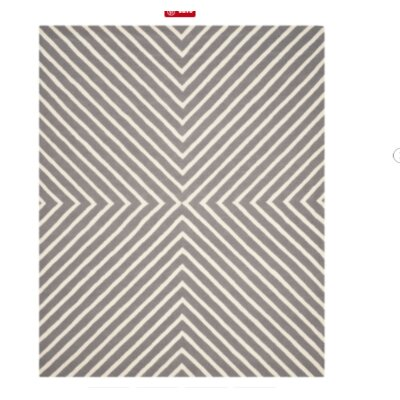 Weybridge Light Blue/Ivory Area Rug Rug Size: 4 x 6