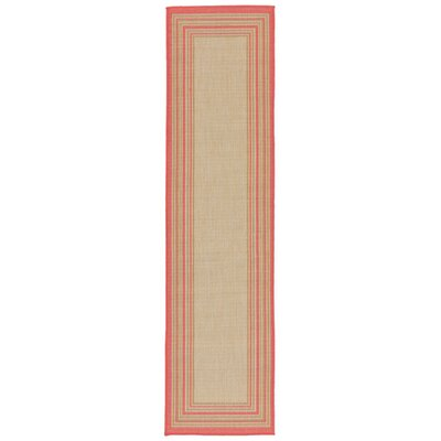 Clatterbuck Indoor/Outdoor Area Rug Rug Size: Runner 111 x 76
