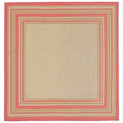 Clatterbuck Indoor/Outdoor Area Rug Rug Size: Square 710