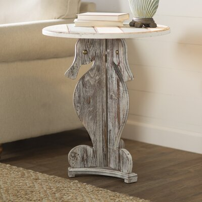 Rushmore Seahorse End Table